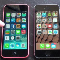 iPhone 5C vs. iPhone 5S