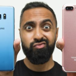 iPhone 7 Plus vs Samsung Galaxy Note 7